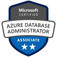 Microsoft Certified: Azure Database Administrator Associate