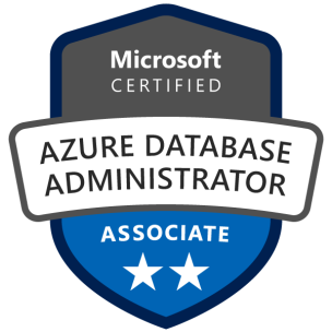 Microsoft Certified: Azure Database Administrator Associate